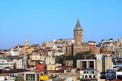 Digital Art - Istanbul Turkey by Eva Kaufman