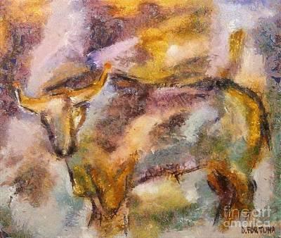 Istrian Bull -  Boshkarin Art Print