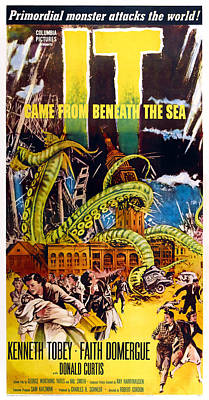 It Came From Beneath The Sea, Poster Art Print