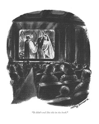 Theater Drawing - It Didn't End Like This In The Book by Whitney Darrow, Jr.
