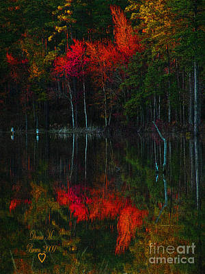 Photograph - It Fall Time Again by Donna Brown