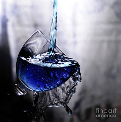 It Is Blue Art Print