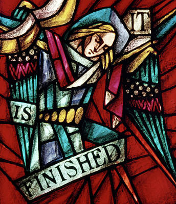 Accomplish Painting - It Is Finished Sixth Word Of Christ by Vintage Images