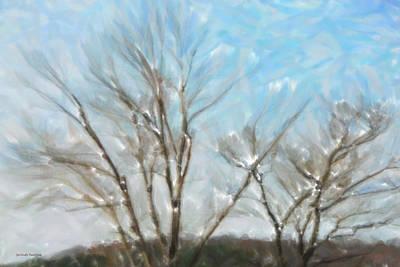 Winter Print by Gerlinde Keating - Galleria GK Keating Associates Inc