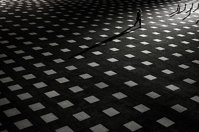 Pattern Photograph - It Is Scattered by Kouji Tomihisa