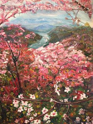 Painting - It Is Spring Everyday by Belinda Low