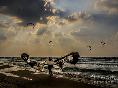 Israel Photograph - It Looks Like The Batman Returned 02 by Arik Baltinester