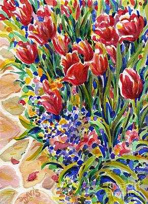 Painting - It Might As Well Be Spring by Dee Davis