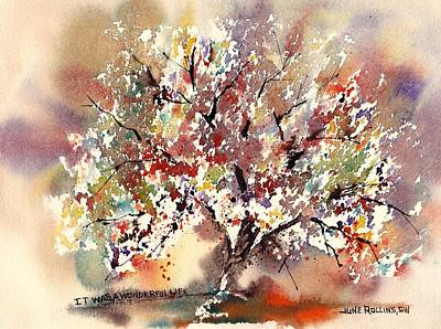 Painting - It Was A Wonderful Life by June Rollins