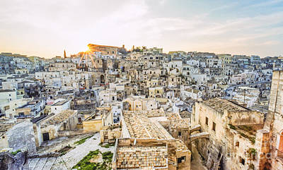 Traditionell Photograph - It255429 Italy Matera European Cultural Capital 2019 by Karl Thomas