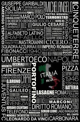Italia Mia... Art Print by Helena Kay