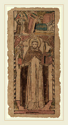 Italian 15th Century, Saint Dominic Art Print by Litz Collection