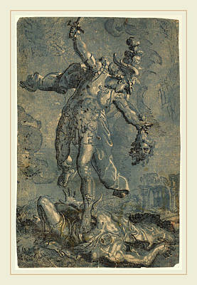 Italian 16th-17th Century After Marco Pino Art Print by Litz Collection