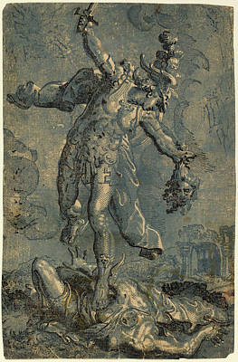 Italian 16th-17th Century After Marco Pino Art Print by Quint Lox