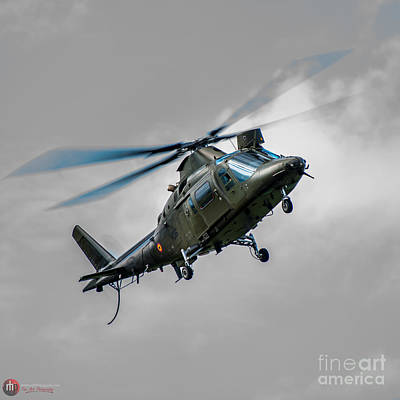 Photograph - Italian Agusta A 109 by Rob Heath