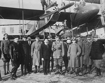 1918 Photograph - Italian Aircraft Production, World War I by Science Photo Library