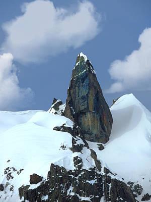 Photograph - Italian Alps Pinnacle by Frank Wilson