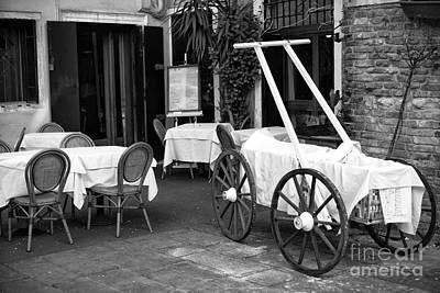 Italian Cart Print by John Rizzuto