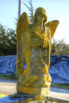 California Photograph - Italian Cemetery Colma 9 by Deborah Smolinske