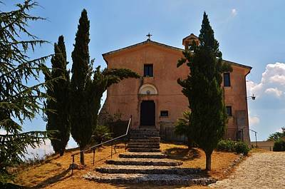 Photograph - Italian Chapel by Dany Lison