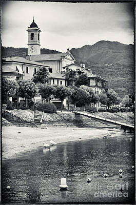 Photograph - Italian Church On Lake Maggiore by Silvia Ganora