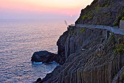 Photograph - Italian Coastline by Walt  Baker