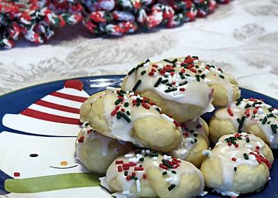 Photograph - Italian Cookies by Janice Drew