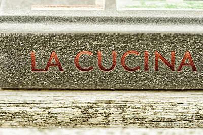 Italian Cooking Art Print by Patricia Hofmeester