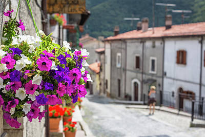 Flower Photograph - Italian Country In Abruzzo by Deimagine