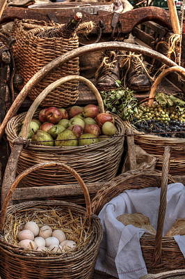 Wine Cart Photograph - Italian Food Cart by Scott Steen