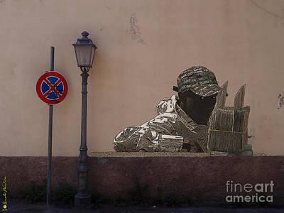 Sicily Digital Art - Italian Graffiti - Day By Day 07 by Renato Ventura