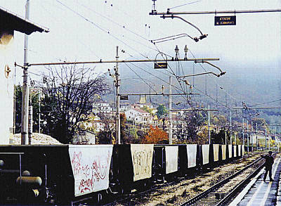 Photograph - Italian Graffiti by Donna Proctor