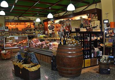 Photograph - Italian Grocery by Dany Lison