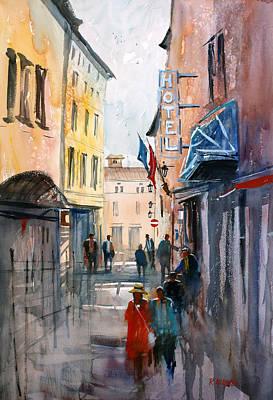 Painting - Italian Impressions 3 by Ryan Radke