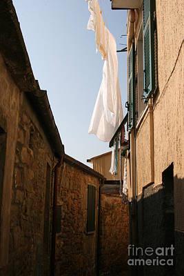 Italian Linen Line Art Print
