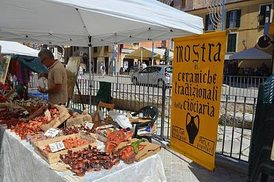 Photograph - Italian Market by Dany Lison