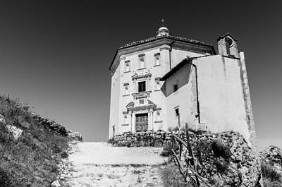 Photograph - Italian Monuments - The Church Of Santa Maria Della Pieta by Andrea Mazzocchetti