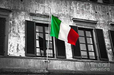 Italian Pride Art Print