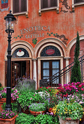 Photograph - Italian Restaurant by Lee Dos Santos