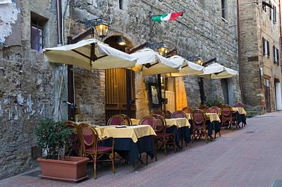 School Teaching - Italian Restaurant by Mick House
