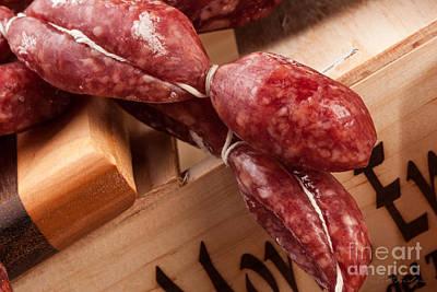 Italian Sausage Art Print by Iris Richardson