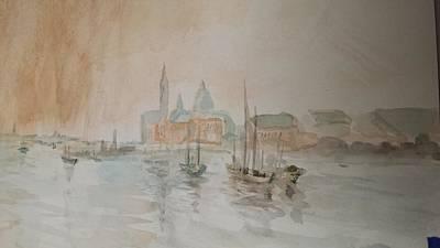 Italian Seaport Art Print