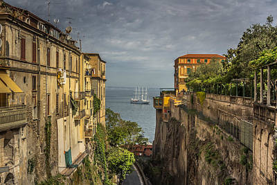 Chris Rock Photograph - Italian Shipping Route by Chris Fletcher