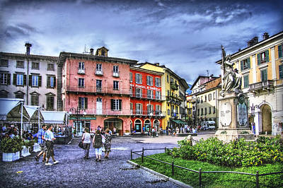 Photograph - Italian Small Town by Hanny Heim