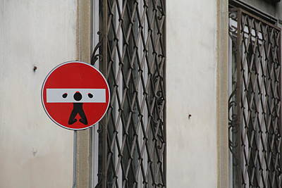 Photograph - Italian Street Humor by Nancy Ingersoll