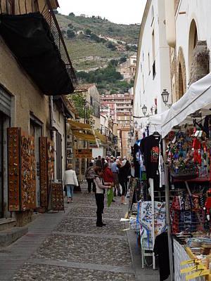 Italian Street Scene Art Print