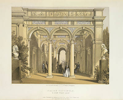 Hyde Park Photograph - Italian Vestibule by British Library