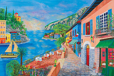 Painting - Italian Visitation by Mike De Lorenzo