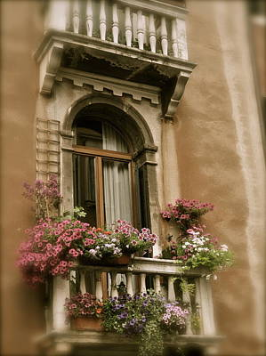 Italian Windowbox 2 Art Print