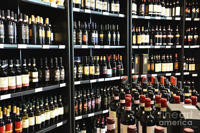 Vino Photograph - Italian Wines by Ramona Matei
